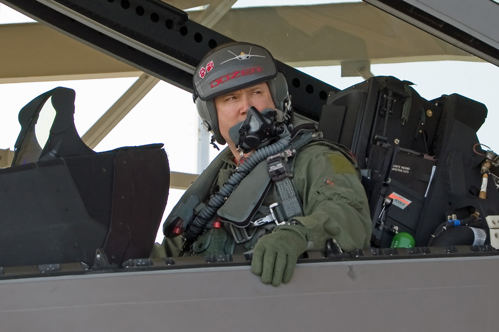 Walker appoints Air Force veteran to Dunleavy Senate vacancy Usaf Fighter Pilot F 22