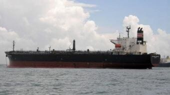 The motor vessel Challenge Prelude is a 587-foot tanker. (Courtesy of Hans Rosenkranz/MarineTraffic.com)