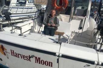 Chris Fiala of Kodiak Island Charters. (Photo by Kayla Desroches / KMXT)