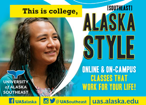 This is college, [southeast] Alaska Style. Online & on-campus classes that work for your life. University of Alaska Southeast