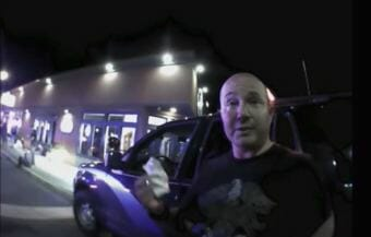 This still from video released by the ACLU of Alaska shows Andres Alexander Caceda-Mantilla during a 2017 incident, leading to what the group alleges was an unlawful arrest.