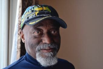 Harry Ross, the Alaska Railroad's first black conductor, is retiring at the end of the summer — after a record 50 years with the company. (Photo by Victoria Petersen/Alaska Public Media)