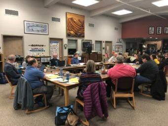 Juneau School Board (Photo by Elizabeth Jenkins/Alaska's Energy Desk