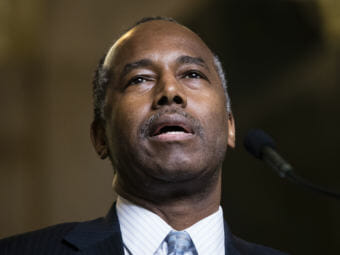 Housing and Urban Development Secretary Ben Carson's proposal calls for increased rent payments by millions of people receiving housing subsidies. (Photo by Matt Rourke/Associated Press)