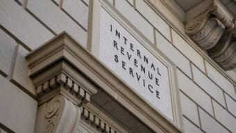 The IRS has extended the filing deadline because of technical problems. Taxpayers now have until midnight Wednesday to file their returns or extension requests and pay their taxes.