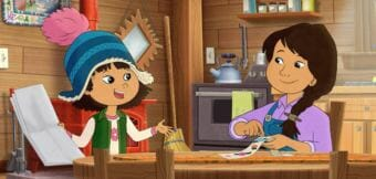 A still from the upcoming PBS KIDS program Molly of Denali (Image courtesy of WGBH Educational Foundation).