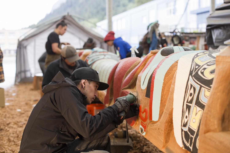 Yanyeidi Healing Totem Shares Indigenous Knowledge