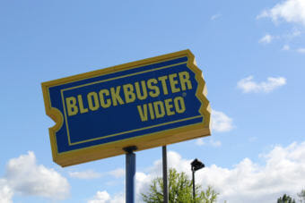 Blockbuster has been in Alaska for more than 25 years, (Photo by Emily Russell/Alaska Public Media)