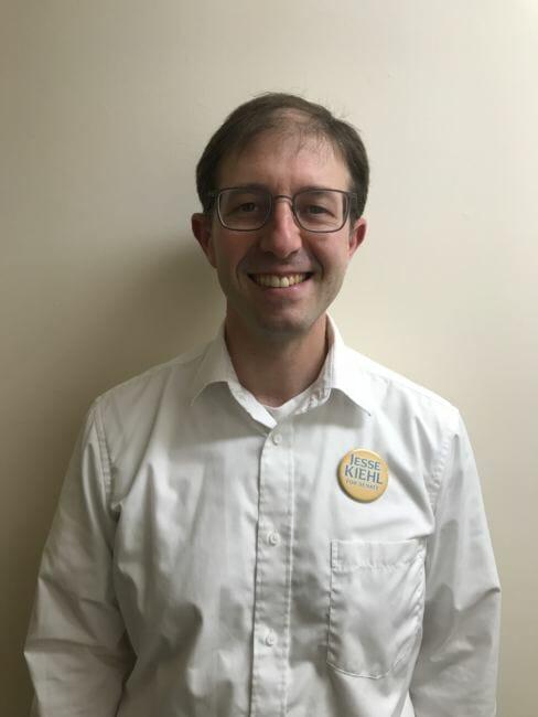 State Senate candidate Jesse Kiehl