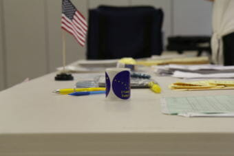 The state of Alaska will hold primaries Aug. 21, which includes nine gubernatorial candidates and the Alaska U.S. representative seat. (Photo by Wesley Early/Alaska Public Media)