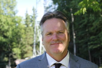 Former Wasilla state Sen. Mike Dunleavy is running to be the Republican nominee for Alaska's governor. (Photo by Wesley Early/Alaska Public Media)