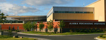 The Alaska Psychiatric Institute in Anchorage. (Photo courtesy of the Alaska Department of Health and Human Services)