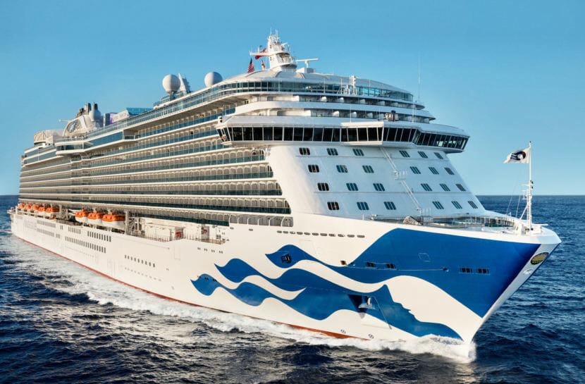 The Royal Princess is designed to carry about 4,900 passengers and crew members, making it one of the largest in the company's fleet. It will begin calling into Alaska ports in May 2019. (Photo courtesy of Princess Cruises)