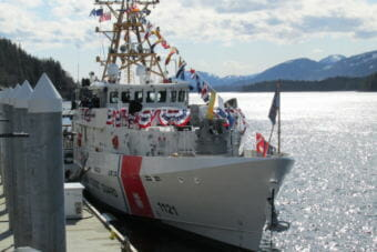 Coast Guard Fast Response Cutter John McCormick in Ketchikan in 2017.
