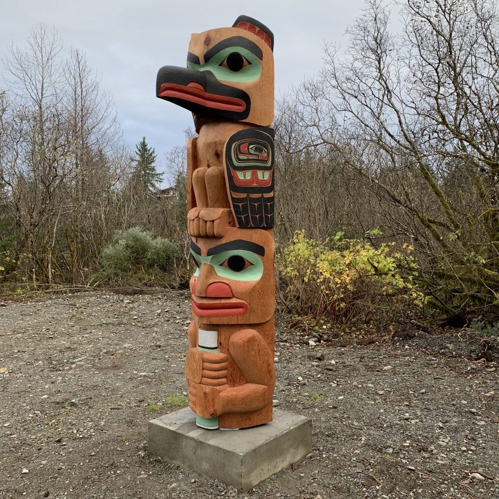 Yakutat Carver S First Totem Pole Honors Her Grandfather