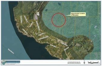 A motocross facility is proposed on land owned by the Ketchikan Gateway Borough. (Image from Ketchikan Gateway Assembly meeting packet)
