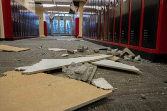 Mat-Su School Superintendent Monica Goyette says Houston Middle School took the most damage during the Friday earthquake, and it's very likely it won't be reopened this school year.