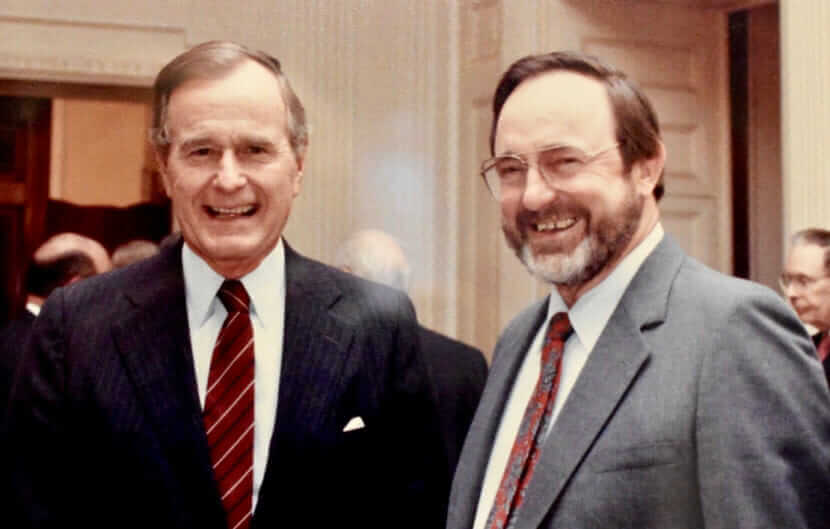George H.W. Bush and Don Young.