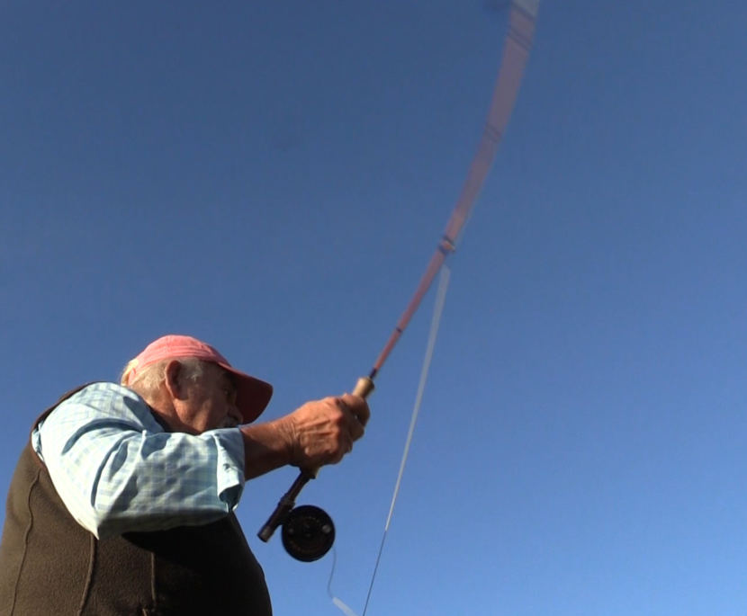 Jon Lyman says you could bend a bamboo fly rod almost double on itself and it still won't break.
