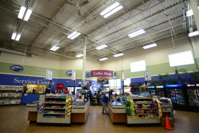 When the clock strikes midnight, Unalaska's grocery stores will swap out plastic bags for paper.