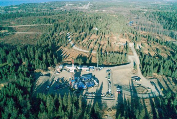 Hilcorp's Seaview drill site located in Anchor Point.