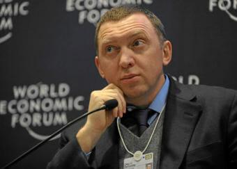 Oleg Deripaska, Russian billionaire, at the 2010 World Economic Forum.
