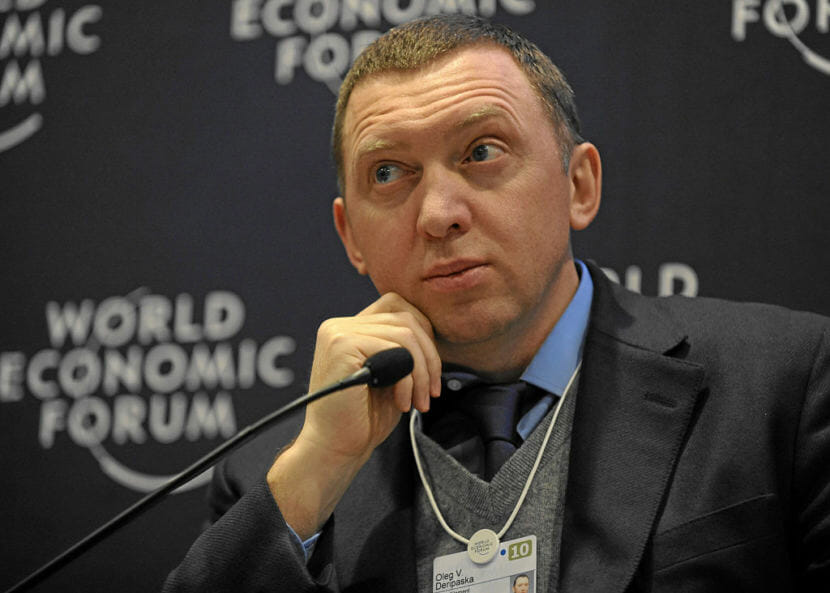 Oleg Deripaska, Russian billionaire, at the 2010 World Economic Forum.