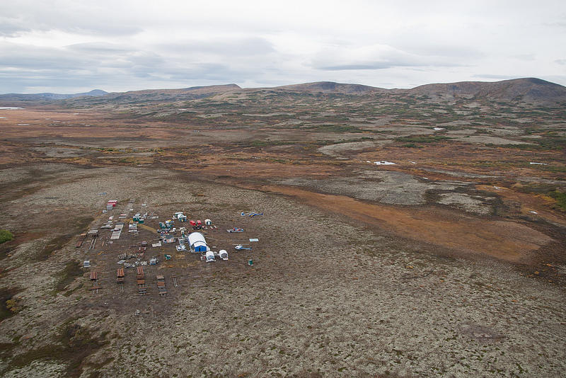The proposed site of the Pebble Mine.