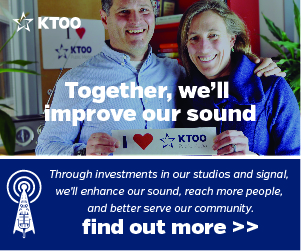 Through investments in our studios and signal, we'll enhance our sound, reach more people, and better serve our community. Click here to find out more.