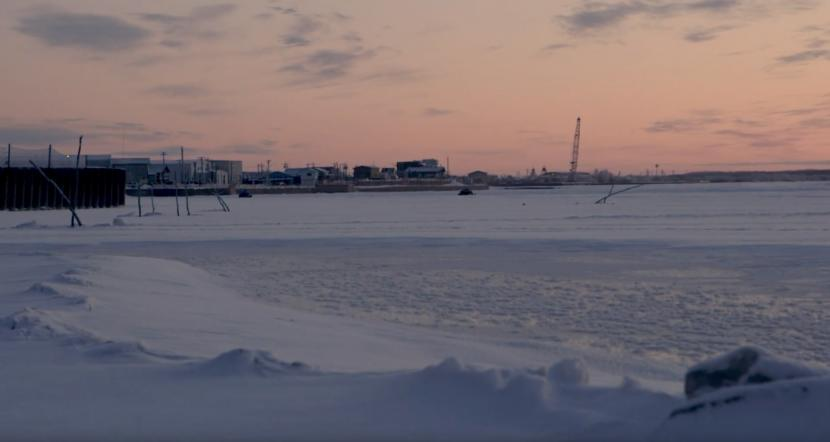A view of Bethel in wintertime.
