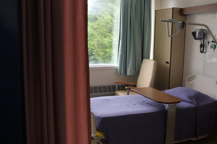 Sitka Community Hospital will suspend scheduled surgeries on February 28, the same day the city will unveil the draft of their hospital sale agreement to the public. (Photo by Emily Kwong/KCAW)