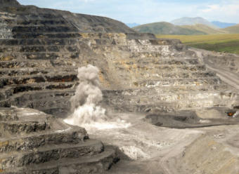 The Red Dog Mine in 2010. (Photo by Alaska Public Media)