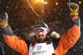 Bethel's Pete Kaiser is victorious in the 2019 Iditarod Trail Sled Dog Race, securing his first win Wednesday, March 13.