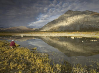 A view from the Arctic National Wildlife Refuge.