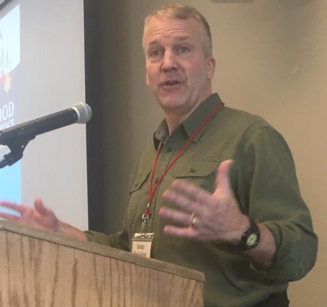 U.S. Sen. Dan Sullivan, R-Alaska, addressed the Alaska Food Festival and Conference on March 8, 2019.