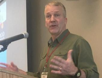 U.S. Sen. Dan Sullivan, R-Alaska, addressed the Alaska Food Festival and Conference on March 8, 2019.