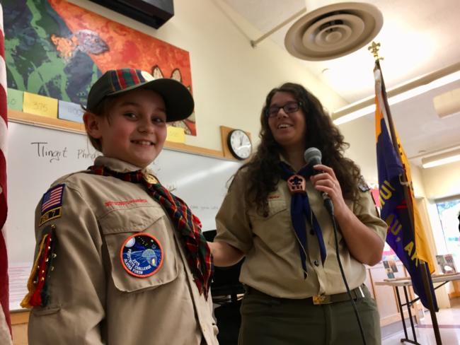 Meet the first girls of Juneau Cub Scouts