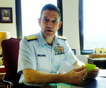 Rear Admiral Matthew Bell, commanding officer of the U.S. Coast Guard's 17th District, talks about the federal government shutdowns effect on the Coast Guard in Alaska.