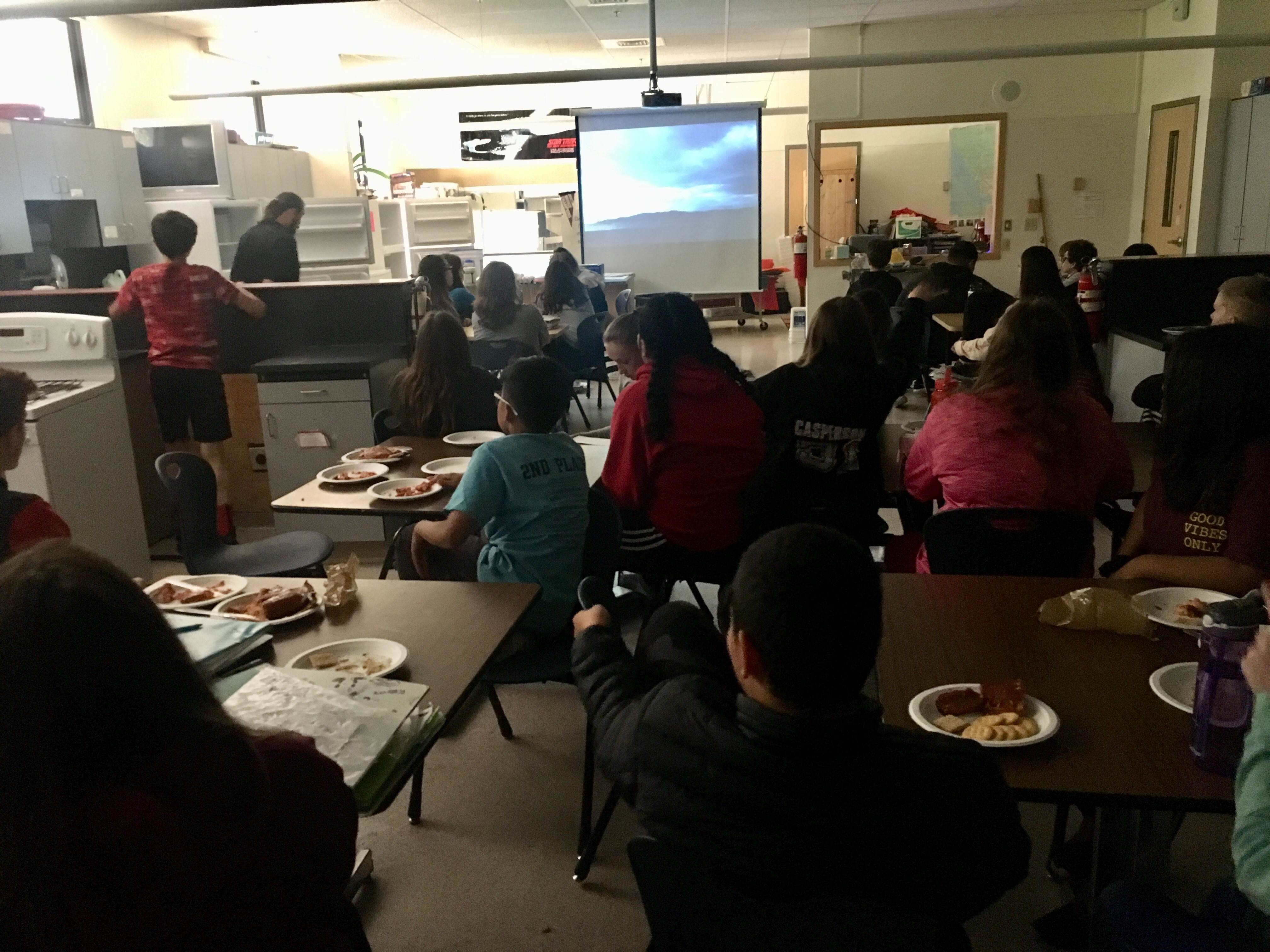 Using local foods, a Juneau middle school teacher demystifies cooking for kids