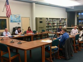 The Juneau school board meets on June 11, 2019. (Photo by Zoe Grueskin/KTOO)