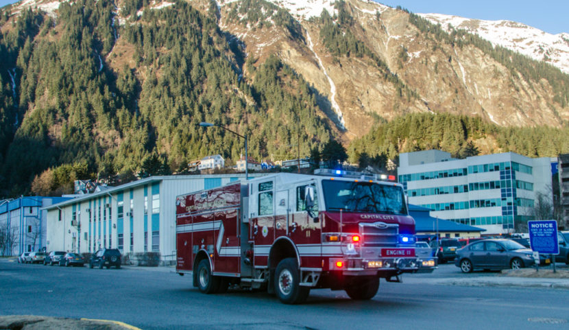 Red flag warning, burn ban issued for Juneau amid high winds