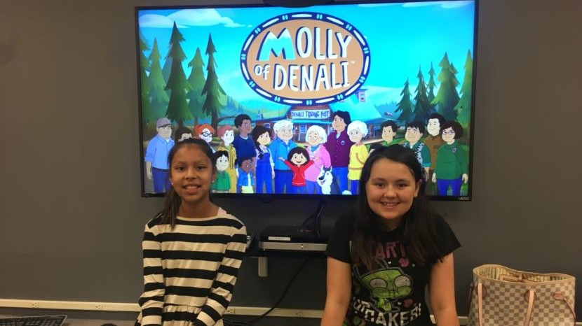 'Molly of Denali' creators help Juneau kids find their own voices