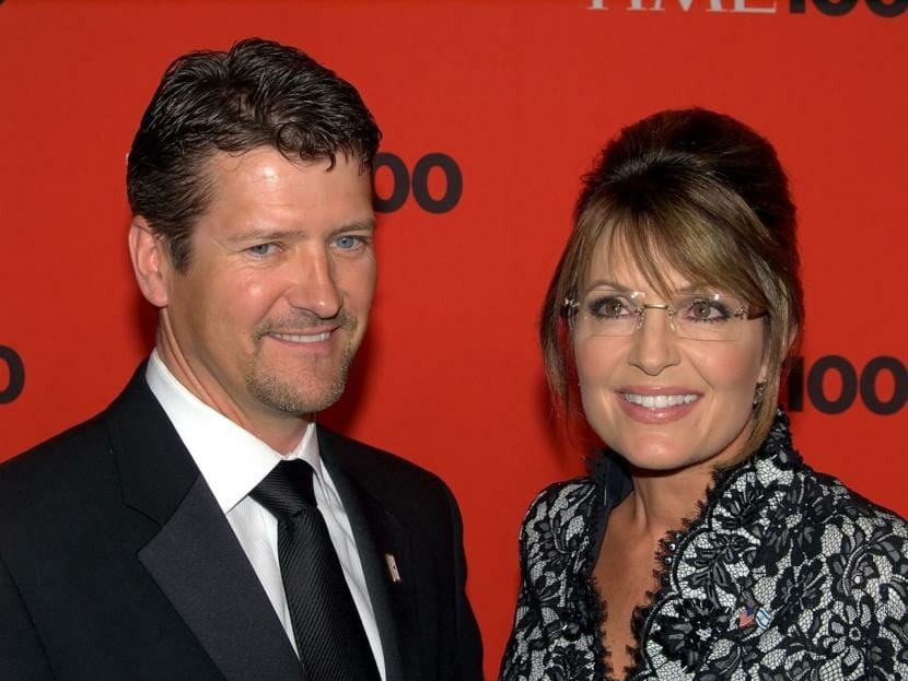 Todd Palin and Sarah Palin at the 2010 Time 100 Gala.