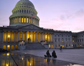 The East Plaza of the U.S. Capitol. (Photo by Liz Ruskin/Alaska Public Media)