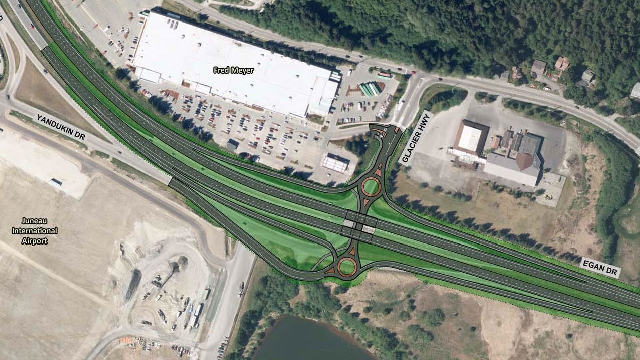 Traffic engineers back $34M highway interchange at accident-prone Juneau intersection