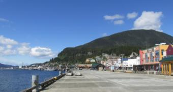 Removing the rock pinnacle should make it easier for cruise ships to dock at the Ketchikan's downtown docks.