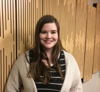 Stella Tallmon of Juneau has been selected as one of two Alaskan students to participate in the United States Senate Youth Program in March 2020 in Washington D.C. (Photo by Matt Miller/KTOO)