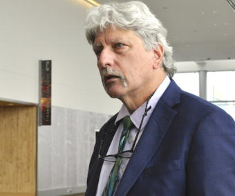 EPA Region 10 Administrator Chris Hladick is Alaska's former commissioner of Commerce. He previously worked as a city manager of Unalaska and Dillingham. (Photo courtesy Liz Ruskin/Alaska Public Media)