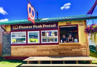 Colton Brooks and Hailey Keil at the 2019 Palmer State Fair (Photo courtesy of Bonnia Honkola)