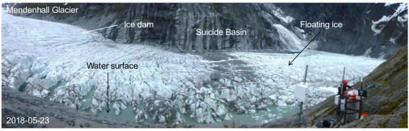 Suicide basin looking north